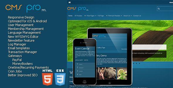 CMS pro m2 - Content Management System