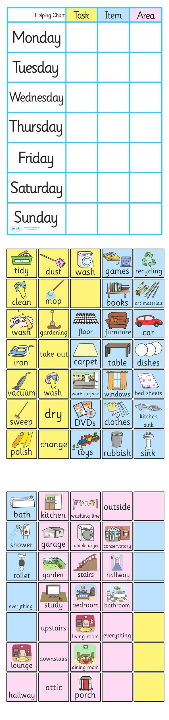 best ideas about cleaning chart printable weekly twinkl resources >> chpre chart for home >> thousands of printable primary teaching resources