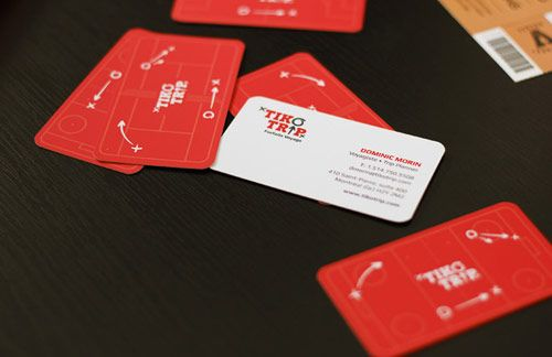 19 tikotrip businesscarddesign in Inspiring Double Sided Business Cards