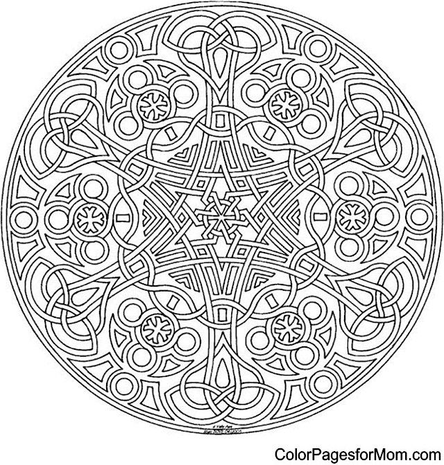 "Mandala 2 Coloring Page | free sample | Join fb grown-up coloring group: ""I Like to Color! How 'Bout You?"" https://m.facebook.com/groups/1639475759652439/?ref=ts&fref=ts"