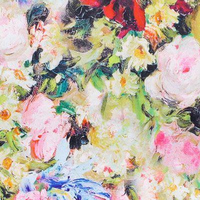 Streč Satin Tilla 1 - Polyester - Elastan - barevny mix