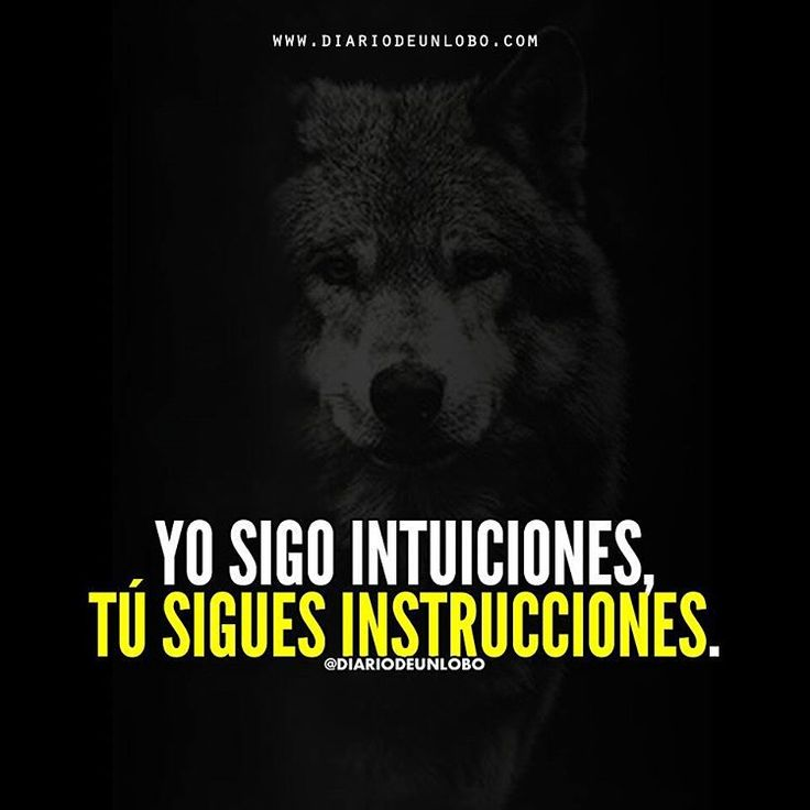 My OWN #BOSS #DiarioDeUnLobo #Frases #iFrases #Quotes #Lobos #Wolves #Lobas #Lobo #Amor #Loba #iFrase #FrasesEnEspañol #SocialMedia #Networking #Like #Love #like4Like #Follow #Follow4Follow #iQuote #FrasesEnCastellano #SpanishQuote #Werewolves #Spanishquotes