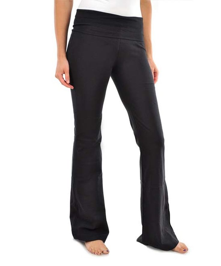 This Stanzino Black Lounge Pants by Stanzino is perfect! #zulilyfinds