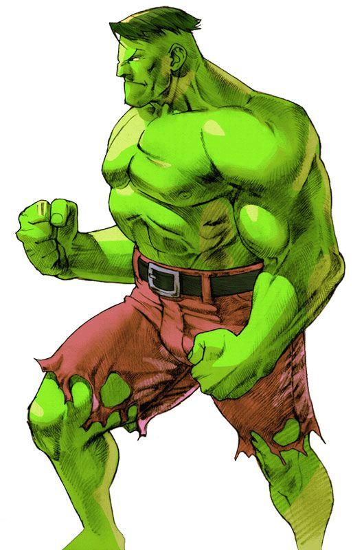 Hulk (The Incredible Hulk) (marvel vs. capcom)