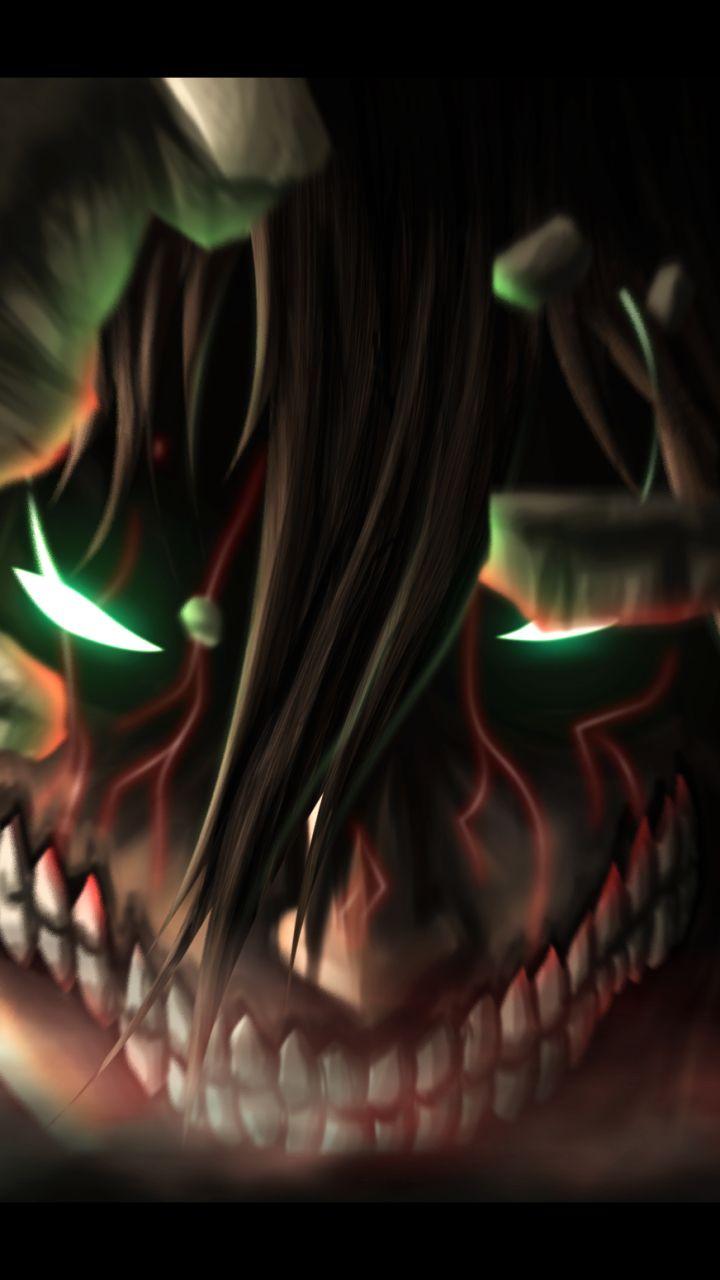 Anime Attack On Titan Eren Yeager Mobile Wallpaper