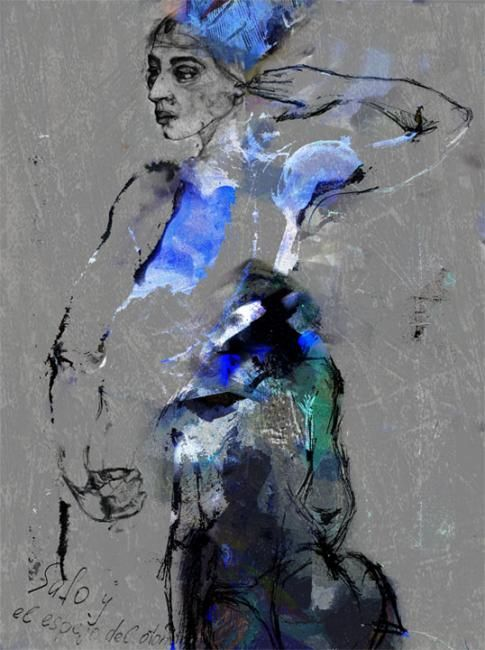 -Alexei Chekini --картон обработанный/акрилик,масло,тушь сухая кисть 75 см x 55 см 2010 г.