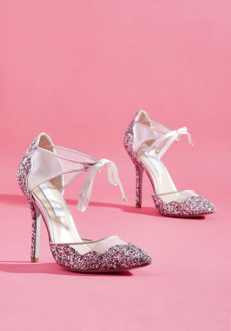Viva la Diva Metallic Heel in Silver. A stunning number for the wedding!