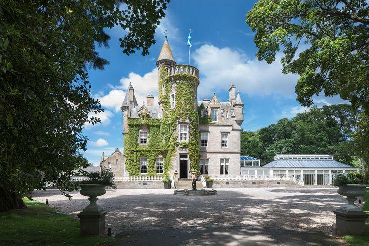 Carlowrie Castle Near Kirkliston In Edinburgh A Luxury Exclusive Use