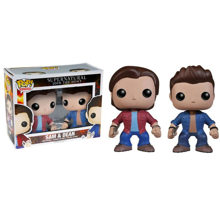 Supernatural POP! Vinyl Figuren Doppelpack Sam & Dean 10 cm