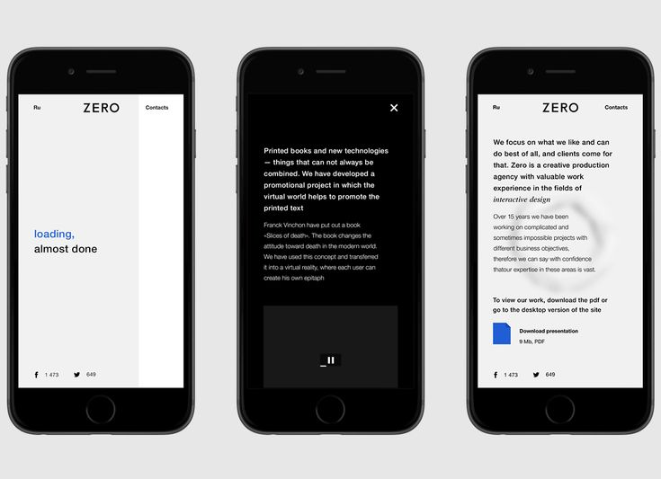 ZERO AGENCY on Behance