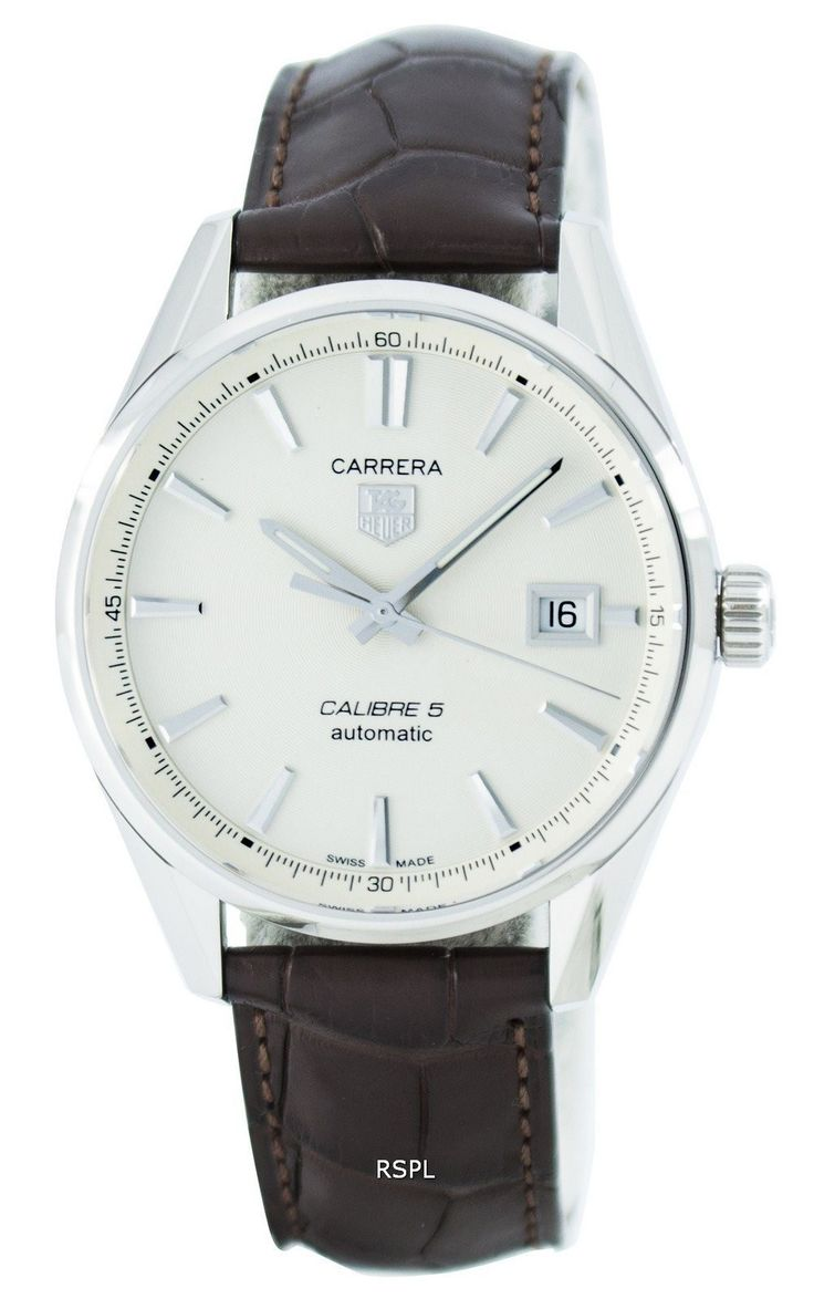 Tag Heuer Carrera Automatic Calibre 5 Swiss Made WAR211B.FC6181 Men's Watch