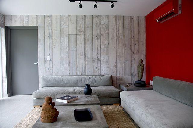 Como Combinar Un Sofa Gris Colores Para Pared Y Cojines Revestimiento De Paredes Interiores Decoracion De Interiores Sofas Grises
