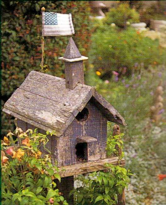 Old School House Birdhouse!
