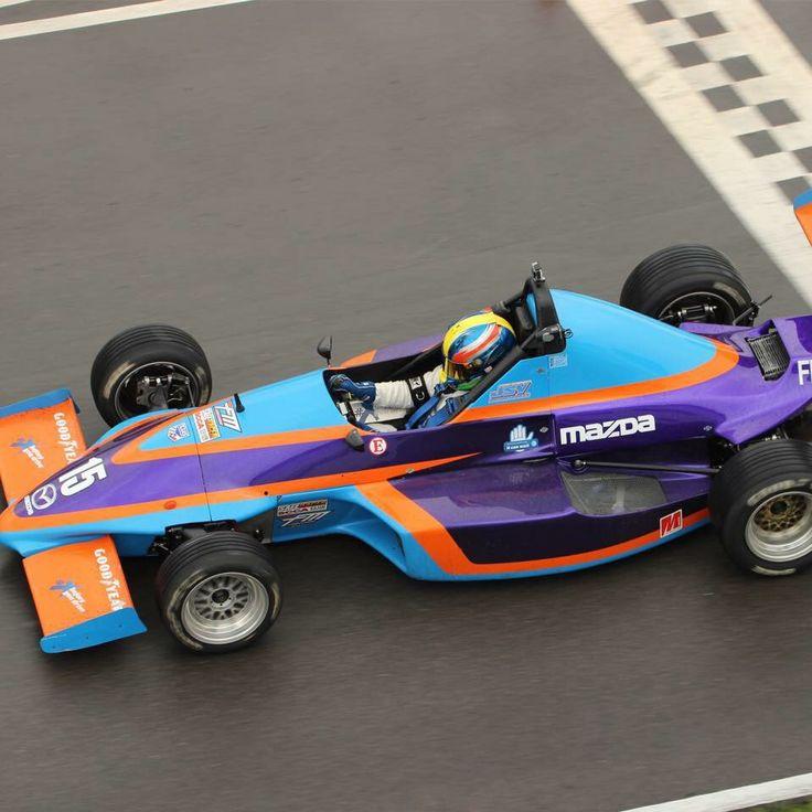 Jarret Voorhies Brings Home The X Formula Mazda In Nd At Hallett - Formula mazda