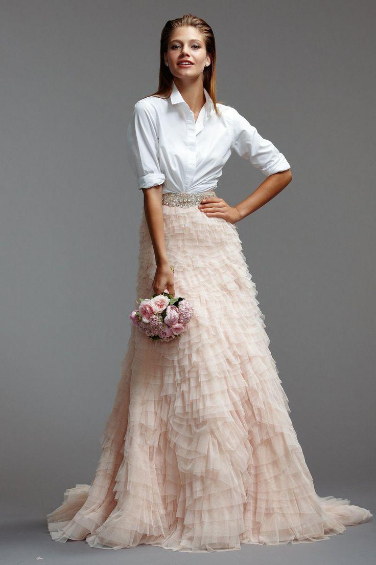 Lisa robertson in wedding dress - Cicily Bridal Separates Wedding Look