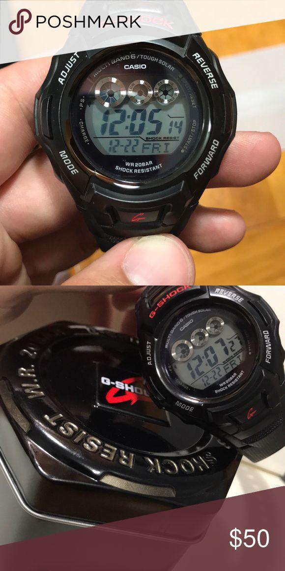 Casio G Shock GW-M530A G Shock tough solar digital watch. Lightly worn. Water resistant up to 20bar. Casio Accessories Watches