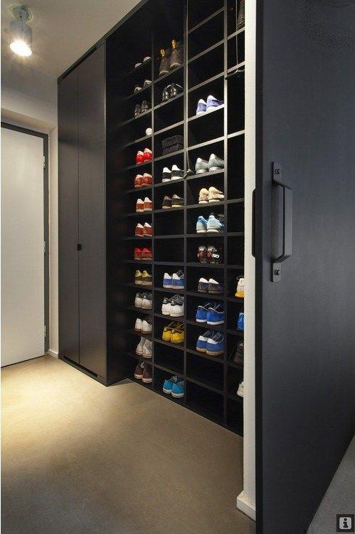 Rangement chaussures armoire à casier