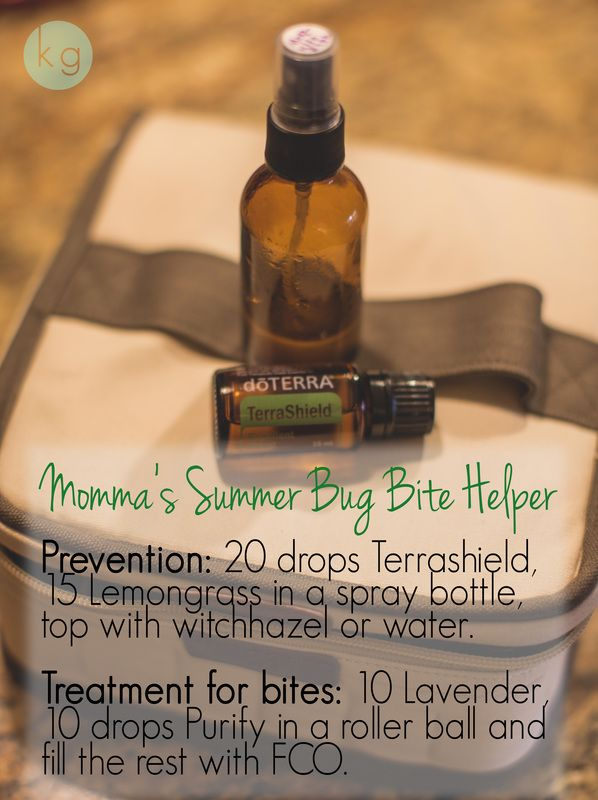 Momma's Summer Big Bite Helper for prevention of bites and treatment when they slip one past ya! Visit me for the recipes & skinny on how to get your oils at www.EssentiallyMomma.com!!!  (mosquito spray, all natural, repellent, bug bite swelling, reduce swelling, essential oil, EO, blend, roller ball)