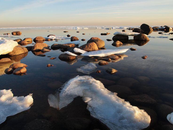 Baltic sea. Spring!