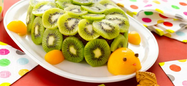 Schildpad met kiwi's en speculoos  http://dlhz.be/NTJAXN