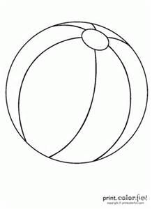 Beach Ball Kids Drawing Pinterest Beach Coloring Pages And
