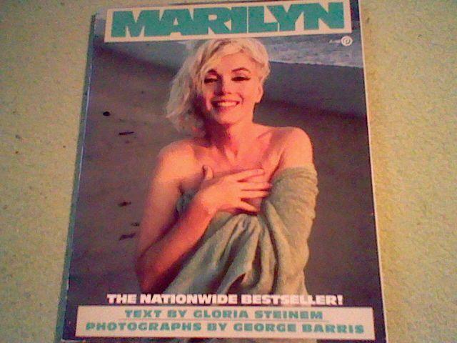 MARILYN, GLORIA STEINEM, 1ST PLUME EDITION, paperback Marilyn Monroe,Norma Jeane