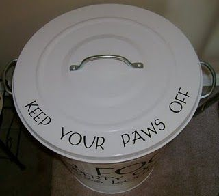 Dog Food Container