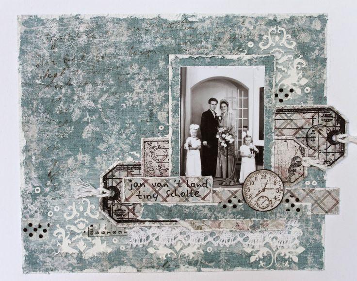 Место Ингрид: первые страницы семейный альбом * Maja Design *