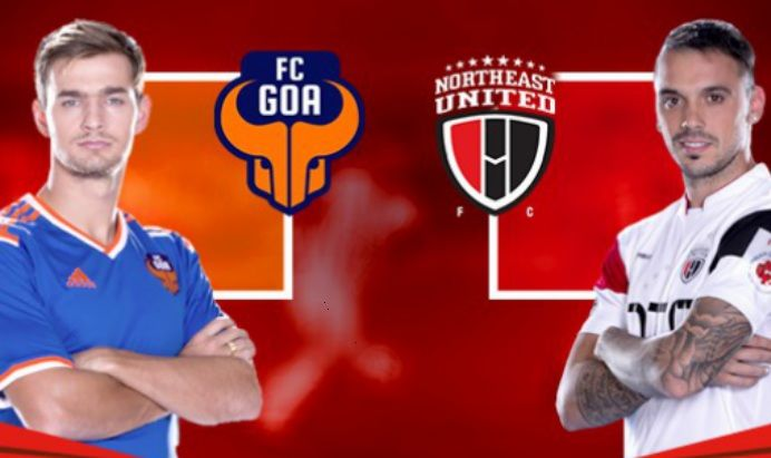 Northeast United vs Goa Live Streaming ISL Football Match Preview, TV Channels, Live Telecast, Kick Off Time. Star Sports, Sony Live, Sony Six, Ten Sports, Hotstar.com live telecast today's indian super league soccer match. Today Live Football Match, Live Soccer Commentary, ISL hindi commentary, Kick off time, Venue
