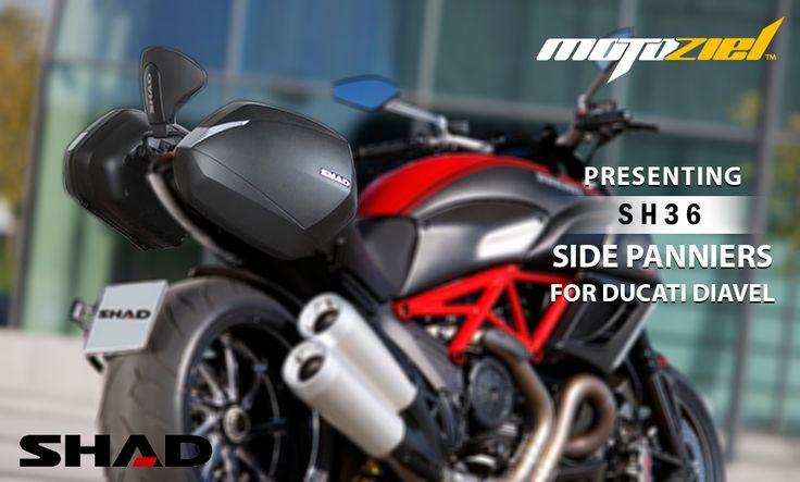 #MotozielRetail #MotorcycleLuggage #SHAD #SHADLuggage #DucatiDiavel #Ducati #Biker #Rider #MotorcycleSideCases #Sidebags #Travel #Shopping #OnlineShopping #OnlineStores #Motorcycle #Motorbike