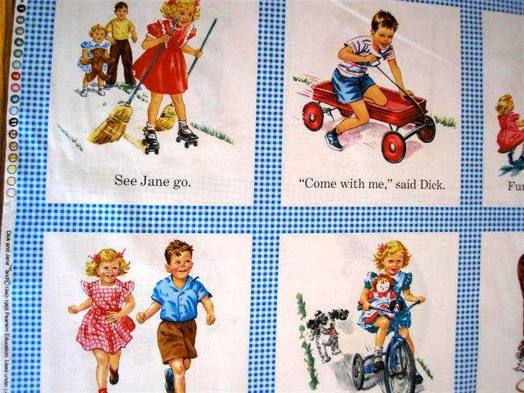 Dick And Jane Fabrics 53