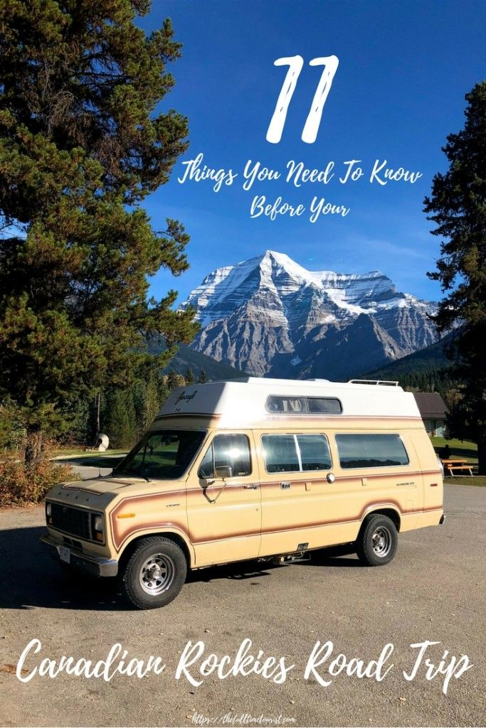 Everything you need to know before driving through the Canadian Rockies on your next road trip! These 10 tips are perfect for all drivers making their first trip through the Rocky Mountains in between Alberta and British Columbia. (And don't worry, these tips go beyond the typical: pack a tire and some extra food!) ***************************************************** Travel Canada | Canadian Rockies Road Trip | Rocky Mountain Road Trip | Bucket list | Canadian National Parks | Banff…
