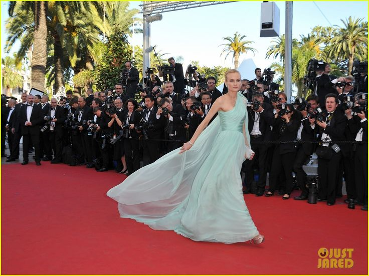 Cannes Film Festival ~ Diane KrugerAqua Silk, Cannes 2012, Cannes Film Festivals, Cannes Open, 2012 Cannes, Style Icons, Couture Dresses, Haute Couture, Amazing Dresses