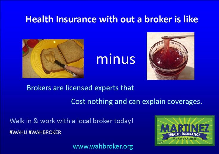 If everyone that signed up for Health Insurance on the Exchange last year selected a broker then $1,000,000 a month would have went into small business hands. It is just one of a million reasons to use a broker.