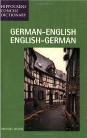 German-English Dictionary and Phrasebook | Penfield Books