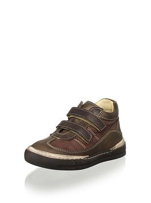 63% OFF Nens Kid's Hook-and-Loop Shoe (Brown)