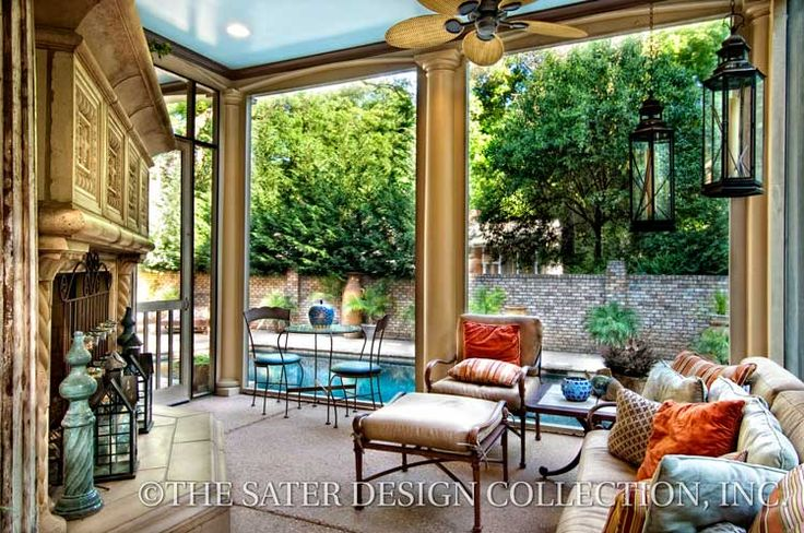 157 best images about outdoor living spaces the sater for Sater design ferretti