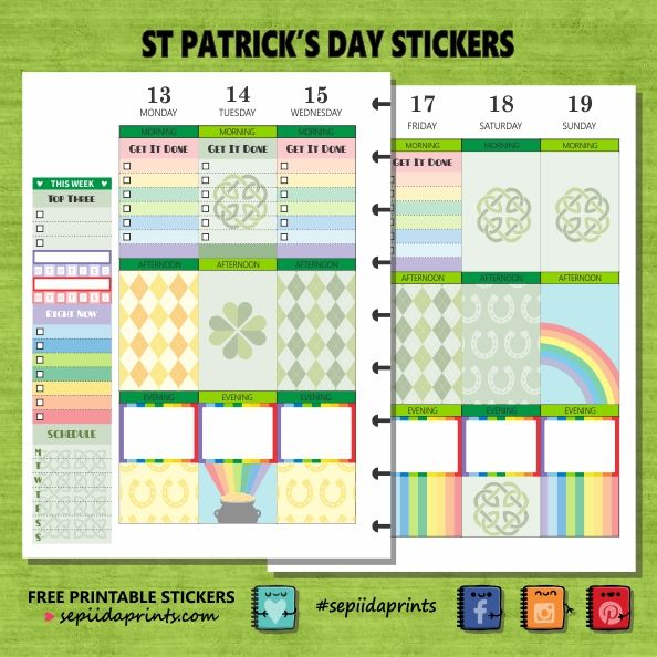 #St Patrick's Day #Freebie Friday A little colour to brighten your planner for St Patrick's Day. Lately I have been whittling away quietly, working on my design layouts. I decided to go…
