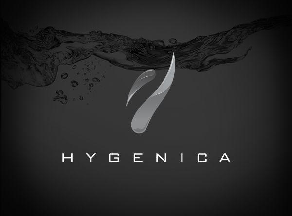 Hygenica Logo #design #logo #axisofevildesign