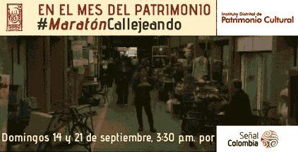 Este domingo, a las 3:30, en la #MaratónCallejeando de @callejeandoidpc, verás a nuestra capital como nunca la has visto.
