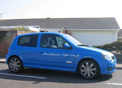 2005 Renault Clio Renaultsport 182 Cup Racing Blue by Steve Coulter Performance Cars.