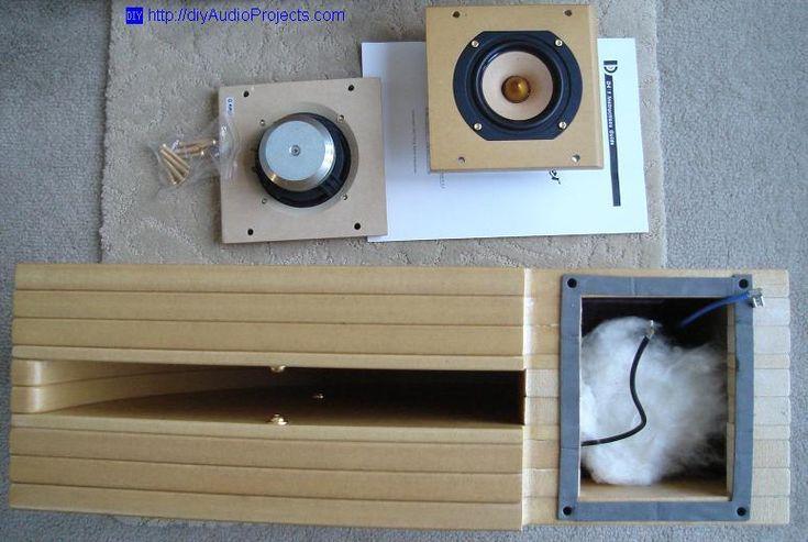 Tang Band D4-1 Horn Speaker Kit Construction