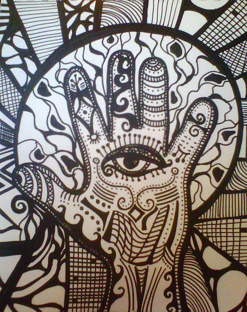 I am excited about some new doodle art I am working on...