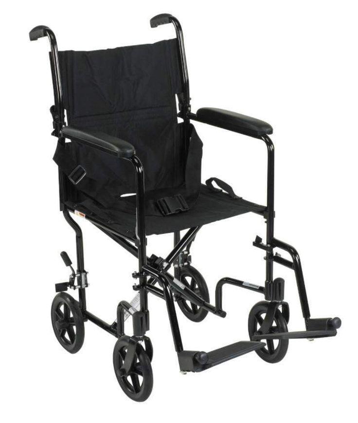 "Drive ATC series 19"" Aluminum Transport chair"