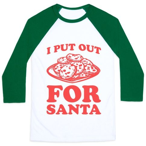 This funny Santa shirt is a great Christmas gag gift to show some holiday slut pride cuz 'I put out for Santa!' This funny Christmas shirt is perfect for fans of Santa jokes, dirty Santa jokes, dirty Christmas shirt, and Christmas shirts.