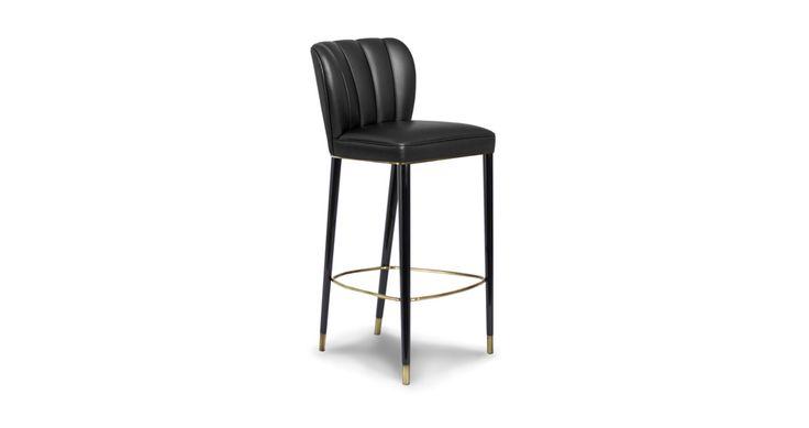 DALYAN Modern Bar Chairs | Upholstered Bar Stools | Bar Chairs | Modern Chairs #Restaurantinteriordesign #restaurantinteriors #hospitalityfurniture | Read more: https://www.brabbu.com/en/upholstery/