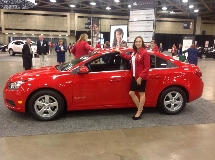 Limited Edition Lipstick Red Mary Kay Career Car Chevy