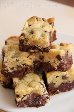 Brownies + Cookie = BROOKIES ♥