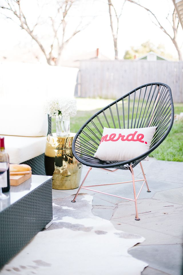 Innit Acapulco Chair // on sothentheysay.com today
