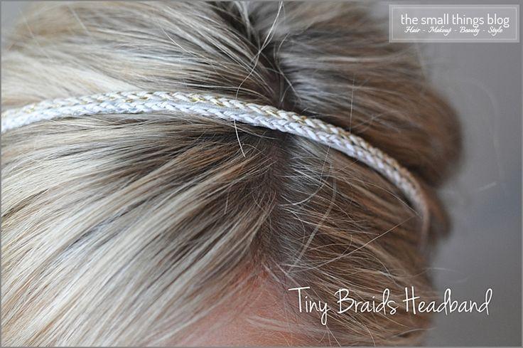 Hair .. Hair Bands ... DIY Hair Band   The Small Things Blog